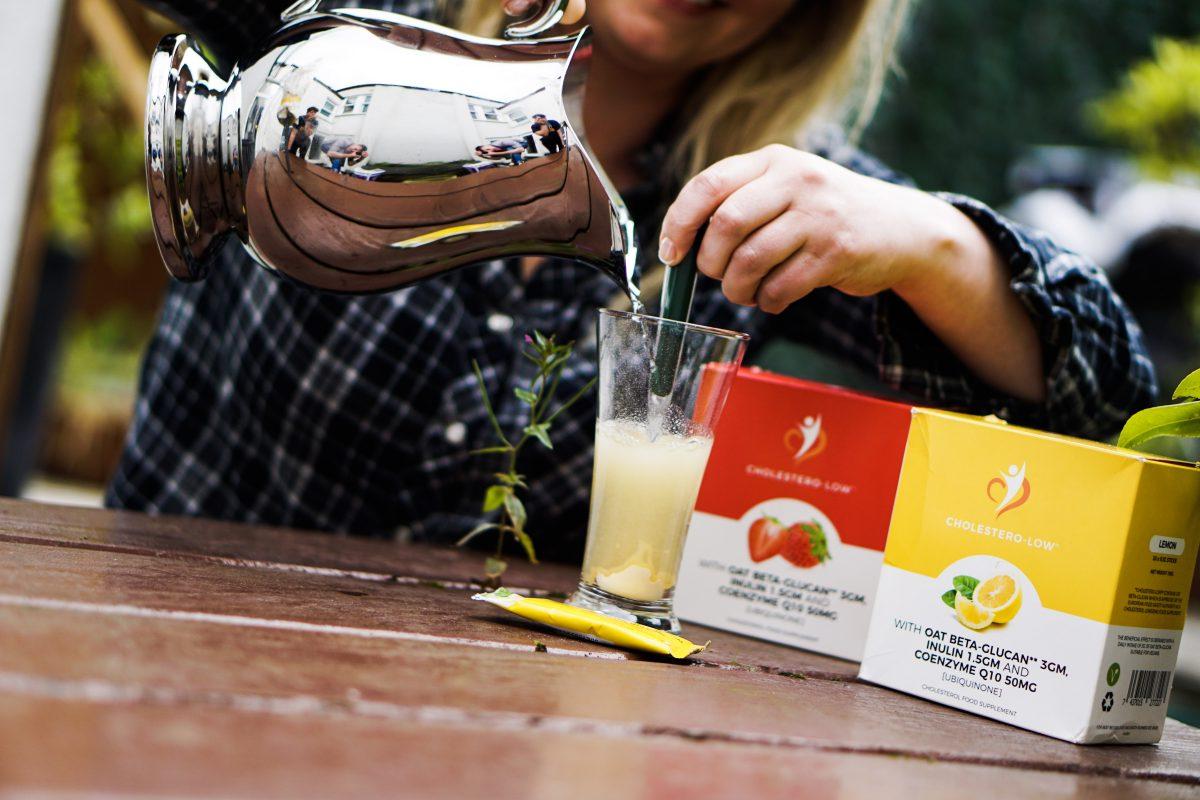 lemon cholesterolow drink