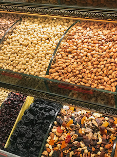 nuts are a healthy snack option